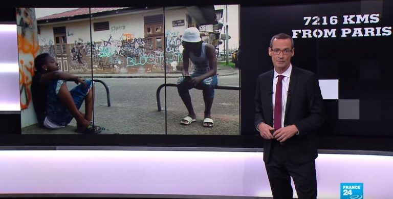 Documentary on French Guiana on France24 TV channel