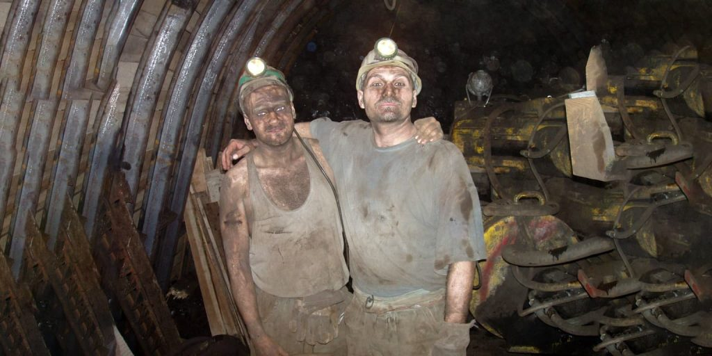 Coal is dying